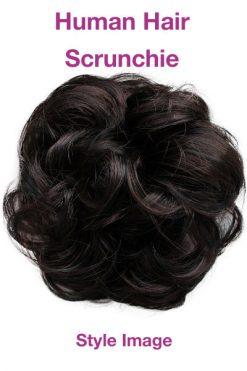 Human Hair Scrunchie