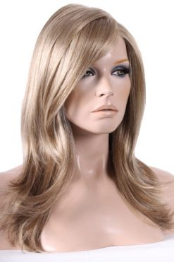 Mega Mono with Lace Front - Colour Sandy Blonde Mix